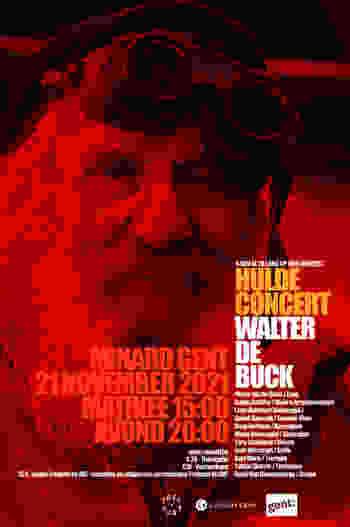 Huldeconcert Walter De Buck Affiche Def Low Res